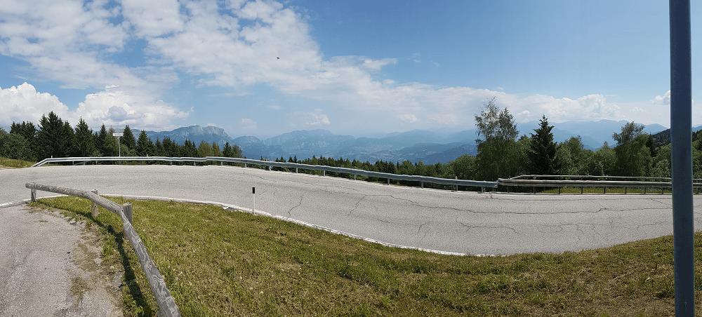Ausblick vom Monte Bondone
