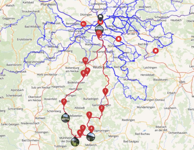 Tour ins Donautal